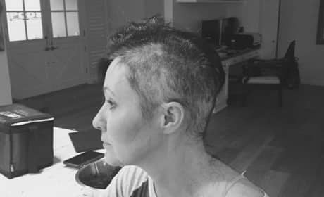 Shannen Doherty Shaved Head Pic