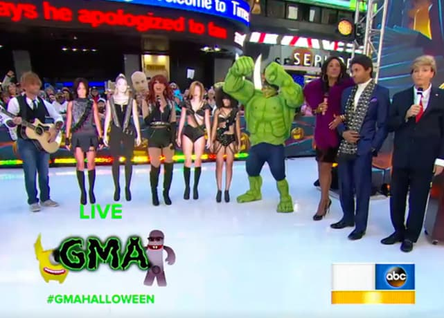 Good Morning America Gossip : Morning show halloween costumes who wore it best page