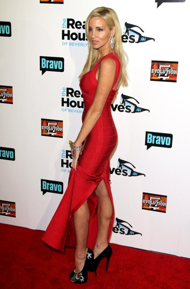 Camille Grammer on the Red Carpet