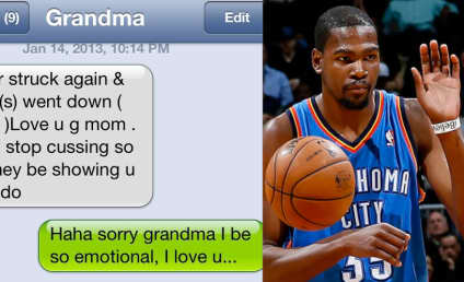 Kevin Durant: Sorry For On-Court Cussing, Grandma!