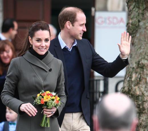 Kate Middleton and Prince William in Caernarfon