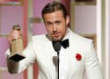 Ryan Gosling Wins (Our Hearts!) at the Golden Globes