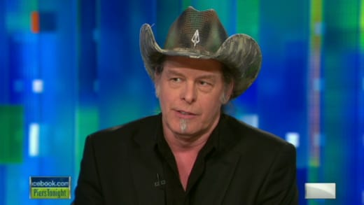 Ted Nugent on Piers Morgan