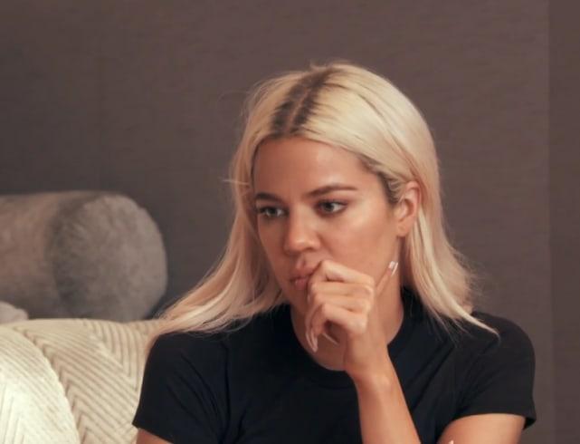 Khloe kardashian tries to lend a sympathetic ear