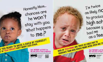 NYC Subway Ads Put Shameful Face on Teen Pregnancy