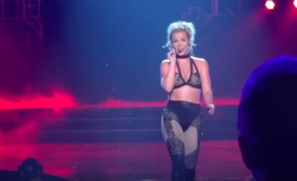 Britney Spears to Men: Suck My F-ckin Toe!