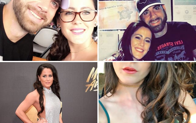 Jenelle evans with david eason