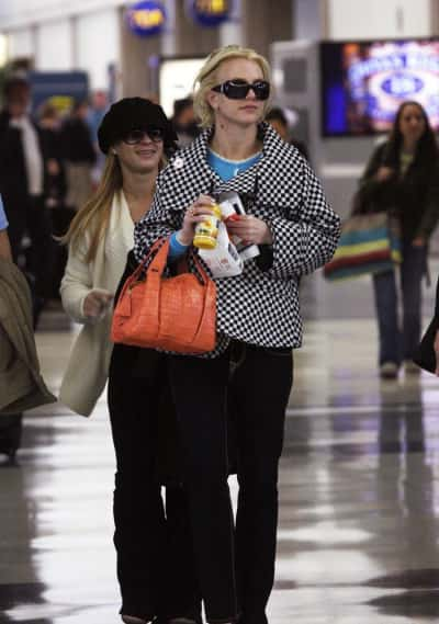 Britney Spears at LAX