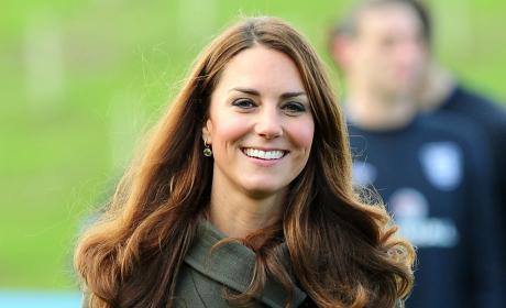 A Smiling Kate Middleton