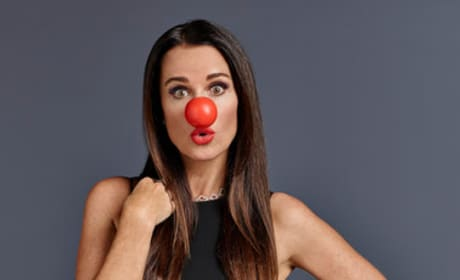 Kyle Richards Red Nose Photo