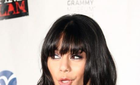 How do you prefer Vanessa Hudgens to wear her hair?