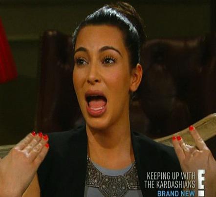 Kim Kardashian Sucking