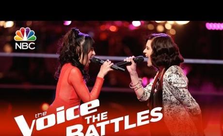 Ashley Morgan vs. Mia Z: The Voice Battle Round