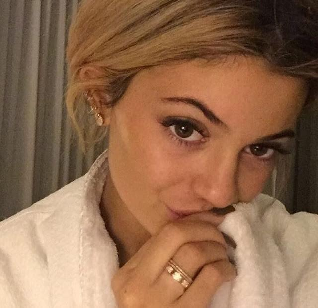 Kylie Jenner Before Bed