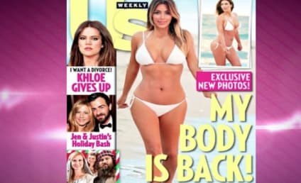 Kim Kardashian Bikini Pics: Definitely Airbrushed, Staged