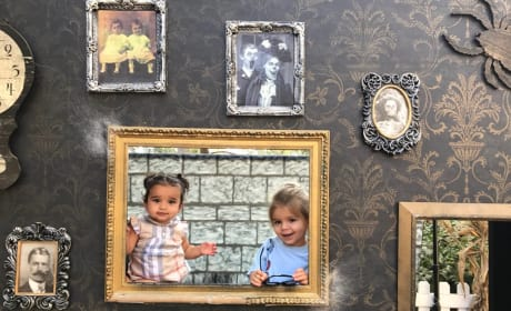 Dream Kardashian and Reign Disick, Haunted Portrait