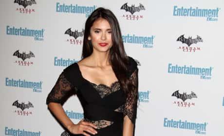 Who looked prettier at Comic-Con: Nina Dobrev or Britt Robertson?