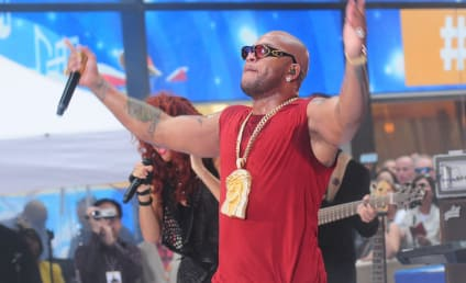 Flo Rida Jesus Bling: A Fashion Do or Don't?
