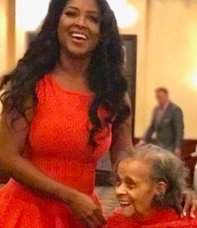 Kenya Moore and Grandma