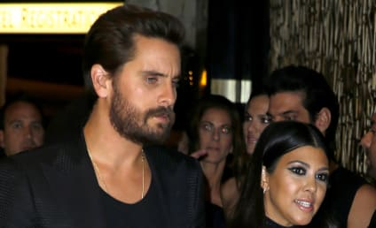 Kourtney Kardashian and Scott Disick Spotted Together Again ... No Casualties Reported