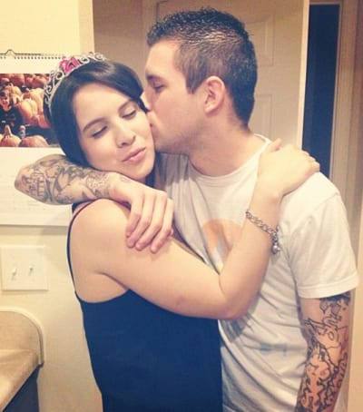 Ashley Salazar and Justin Lane