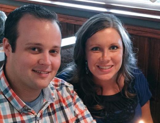 Josh and Anna Duggar Birthday Photo