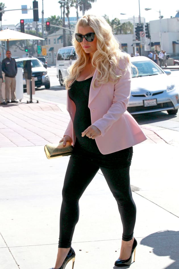 Jessica Simpson Baby Clothes Cool Jessica Simpson Baby Bump Photos Eating For Two The Hollywood Gossip
