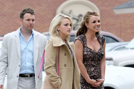 Britney, Jamie Lynn and Fiance