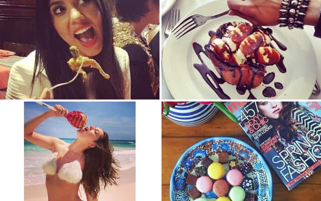 15 best you did not eat that instagram posts kourtney kardashian vs that fried thing on a fork