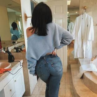 Kylie Jenner's Butt in Jeans