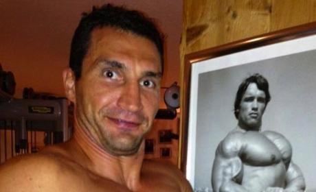 Wladimir Klitschko Shirtless