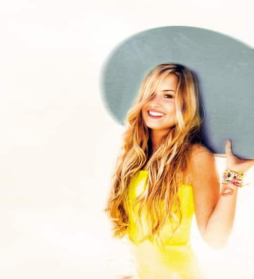 Demi Lovato Self Photo