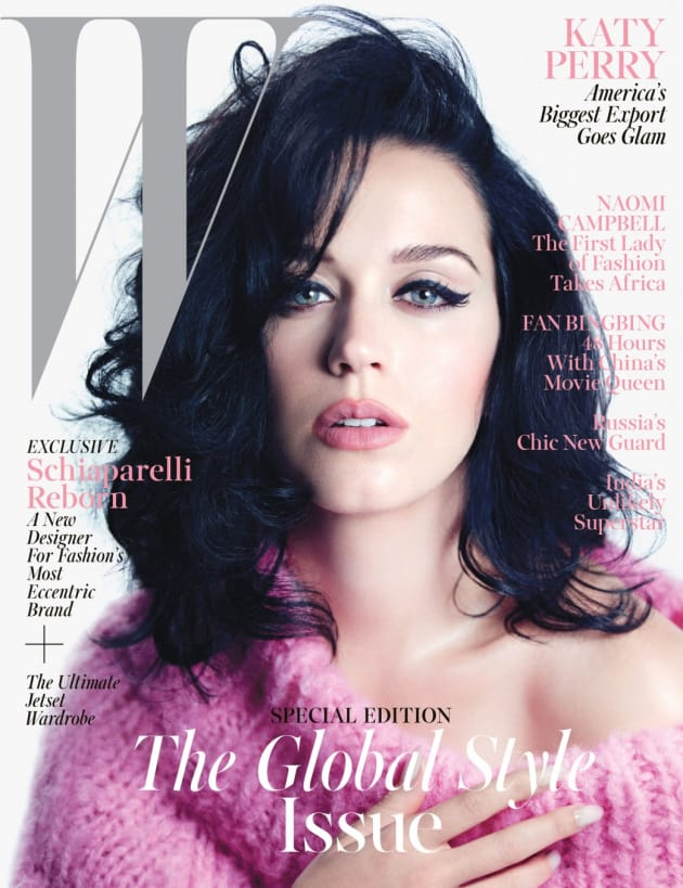 Katy Perry W Magazine Cover