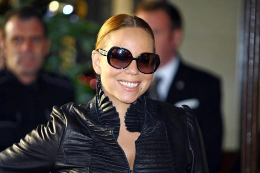 Mariah Carey in London