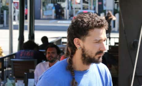 Shia LaBeouf Rocks The Rattail