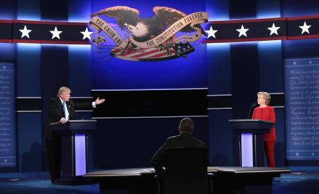 Hillary Clinton vs. Donald Trump: Celebrities React!