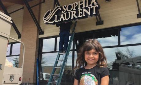Sophia Abraham New Store Photo