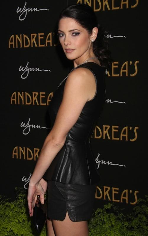 Ashley Greene in Black
