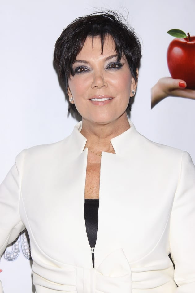 Kris Jenner Red Carpet Pose