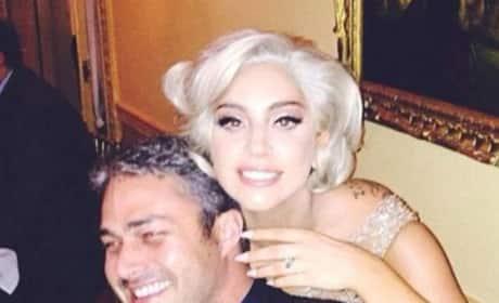 Taylor Kinney, Lady Gaga Pic