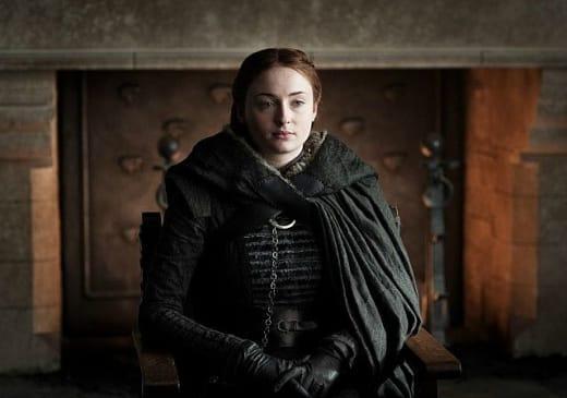 Sansa Looks Pissed