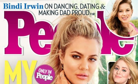 Khloe Kardashian Covers People Magazine