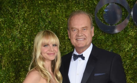 Kayte Walsh with Kelsey Grammer