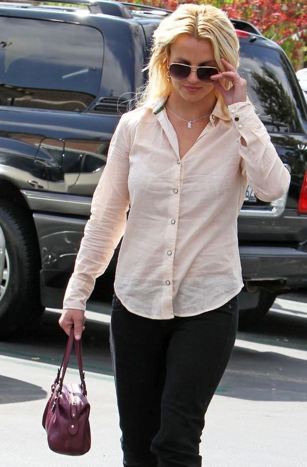 So Pretty in Pink Britney