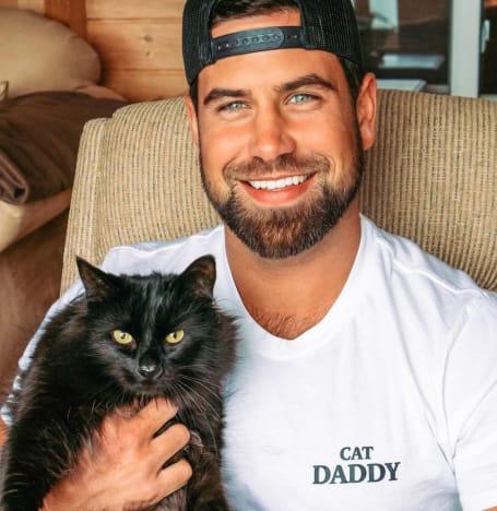 Blake Moynes and Cat