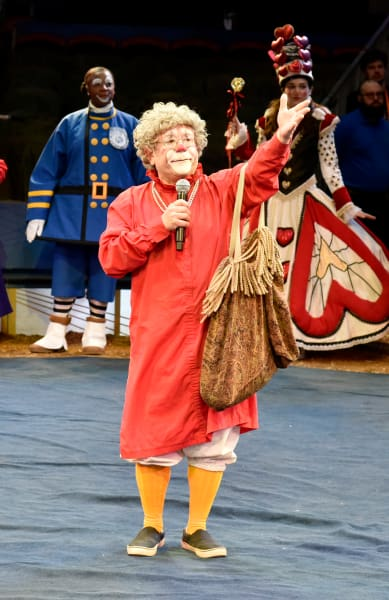 Grandma the Clown Picture