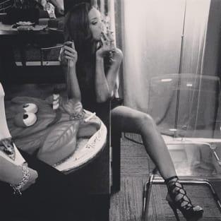 Rihanna on 4/20