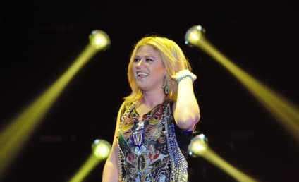 "Kelly Clarkson Defends Pink as ""Human,"" Recommends Chill Pill for Critics"
