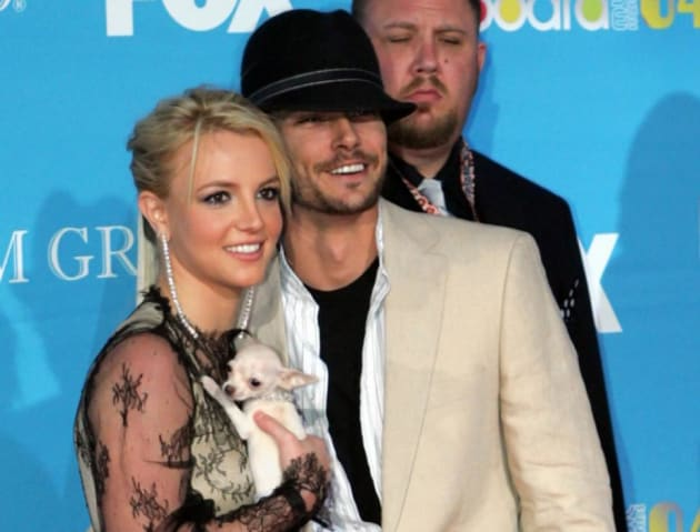 Kevin Federline and Britney Spears Photo