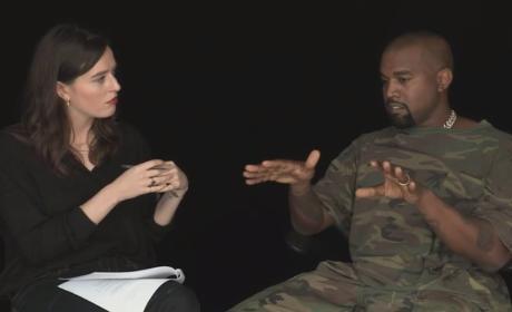 Kanye West on SHOWstudio
